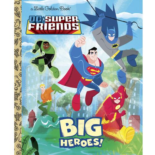 DC Comics Big Heroes! Little Golden Book
