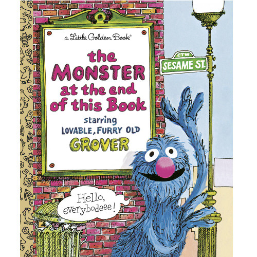 Sesame Street Monsters At The End of This Book Little Golden Book