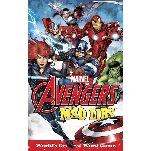 Marvel Avengers Mad Libs