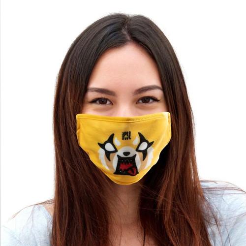 Aggressive Retsuko Face Mask