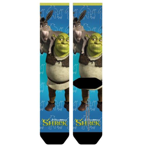 Shrek and Donkey Sublimated Socks
