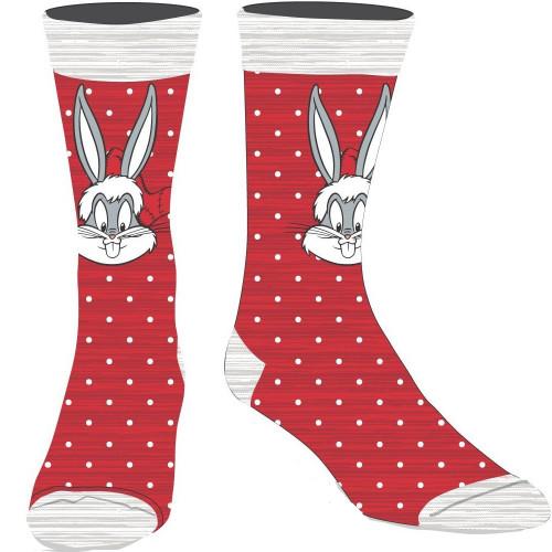 Looney Tunes Bugs Bunny Holiday Crew Socks