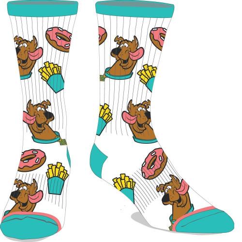 Scooby-Doo Junk Food Crew Socks