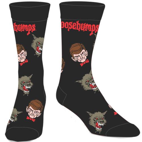 Goosebumps Men's Crew Socks
