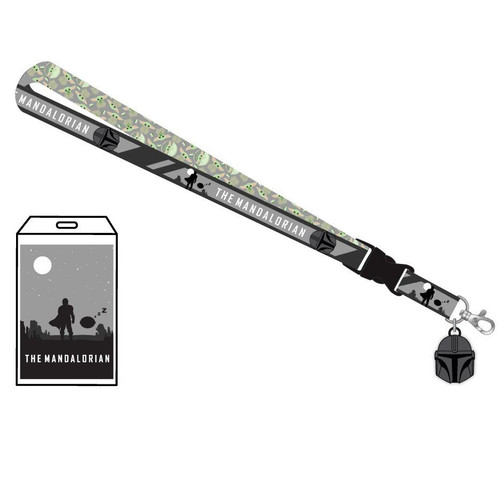 Star Wars The Mandalorian Child Lanyard