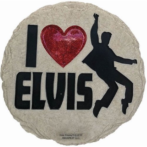 I Love Elvis Stepping Stone
