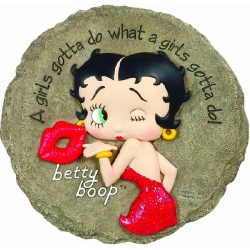 Betty Boop Stepping Stone