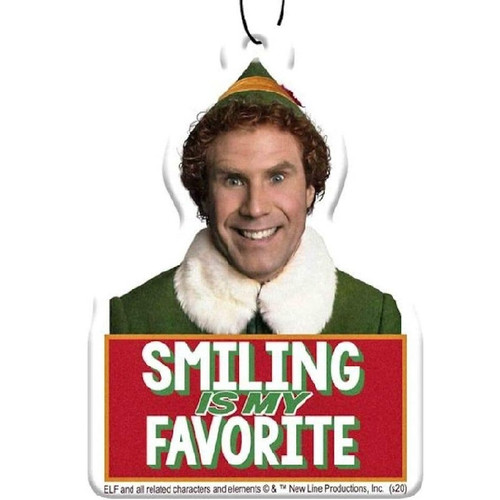 Elf Smiling Is My Favourite Air Freshener