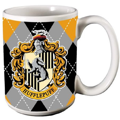 Harry Potter Hufflepuff Ceramic Coffee Mug
