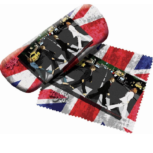 The Beatles Abbey Road Eyeglass Case