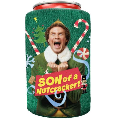 Elf Son of a Nutcracker Can Cooler