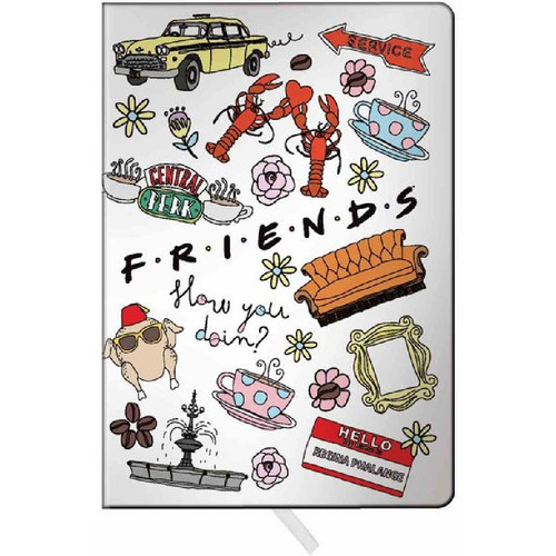 Friends Icons Journal
