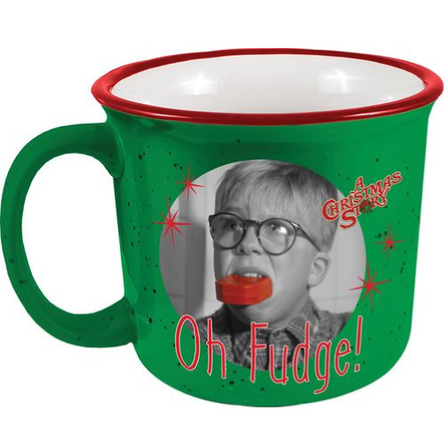 A Christmas Story Oh Fudge Camp Mug