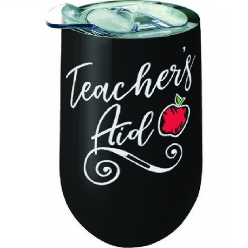 Teacher's Aid Wine Tumbler