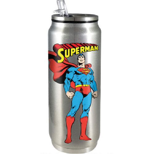 Superman Stainless Steel Beverage Can