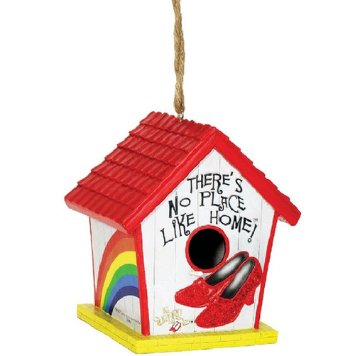 Wizard of Oz Ruby Slippers Birdhouse