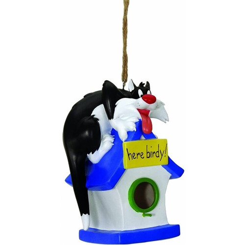 Looney Tunes Sylvester The Cat Birdhouse