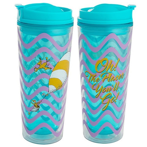 Dr. Seuss Oh The Places You'll Go Acrylic Tumbler