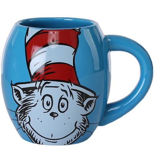 Dr. Seuss Cat in the Hat Oval Ceramic Mug