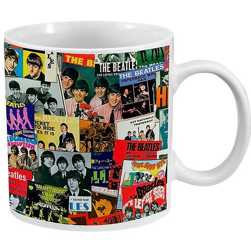 The Beatles Singles Collection Ceramic Mug