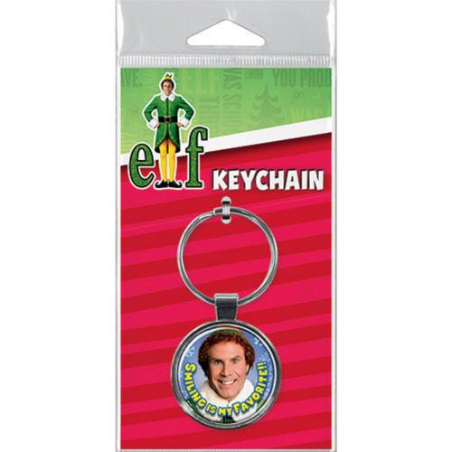Elf Smiling Key Ring