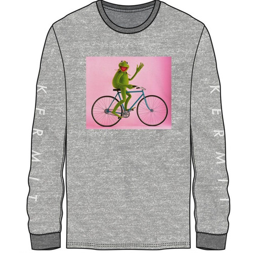 Disney's The Muppets Kermit the Frog Long Sleeve Shirt