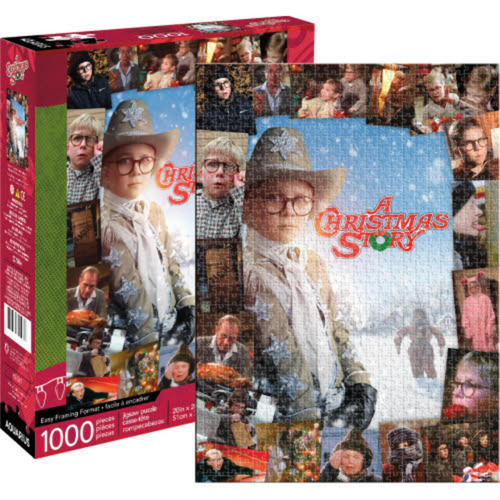 A Christmas Story Collage 1000 piece puzzle