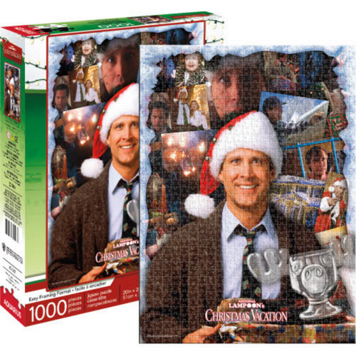 Christmas Vacation Collage 1000 Piece Puzzle
