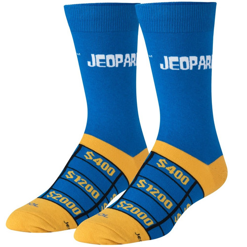 Jeopardy Socks