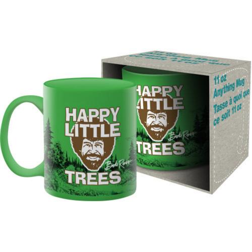 Bob Ross Happy Little Trees Boxed Mug