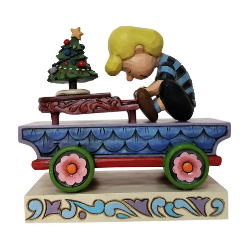 Schroader Piano Train Figure Jim Shore