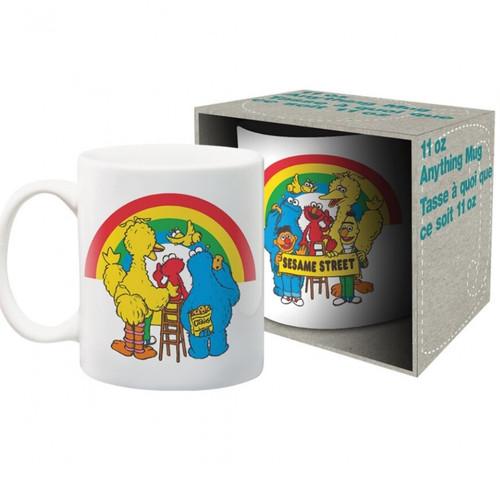 Sesame Street Cast Mug