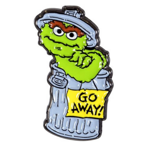 Oscar the Grouch Enamel Pin