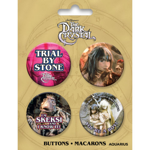 Dark Crystal Button 4 Pack