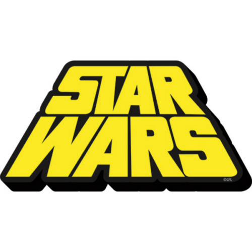 Star Wars Scrolling Text Magnet