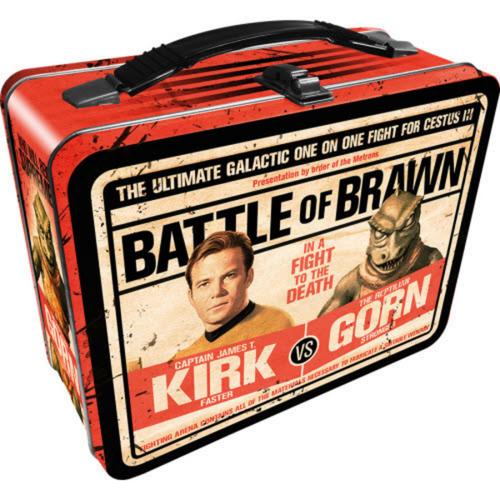 Kirk VS Gorn Tin Tote
