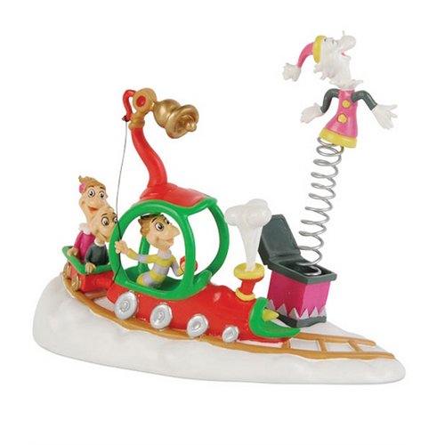 Who's With Their Toys - Department 56 Grinchvillage