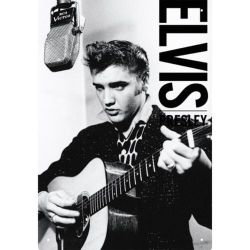 Elvis Tin Sign
