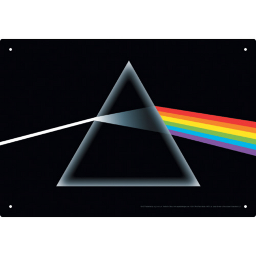 Dark Side of the Moon Tin Sign