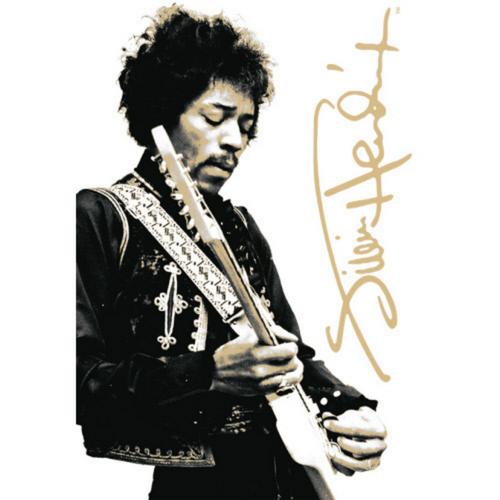 Jimi Hendrix Tin Sign
