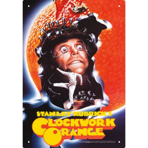 Clockwork Orange One Sheet Tin Sign