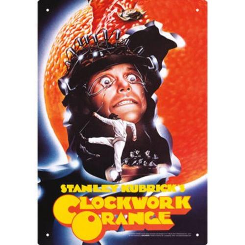 Clockwork Orange One Sheet Tin Sign