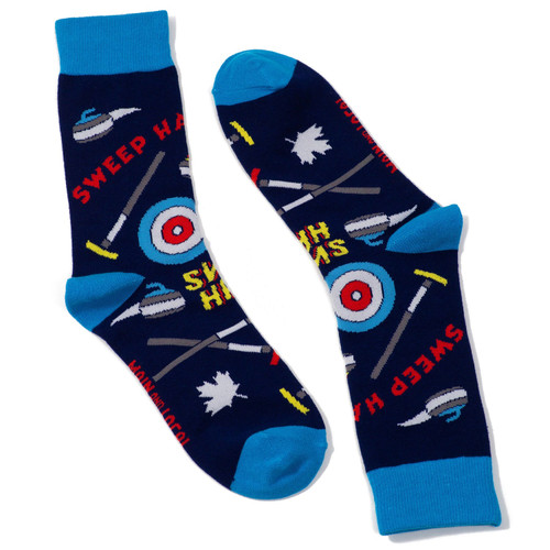 Canadian Curling Socks