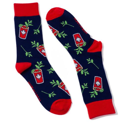 Canadian Caesar Socks