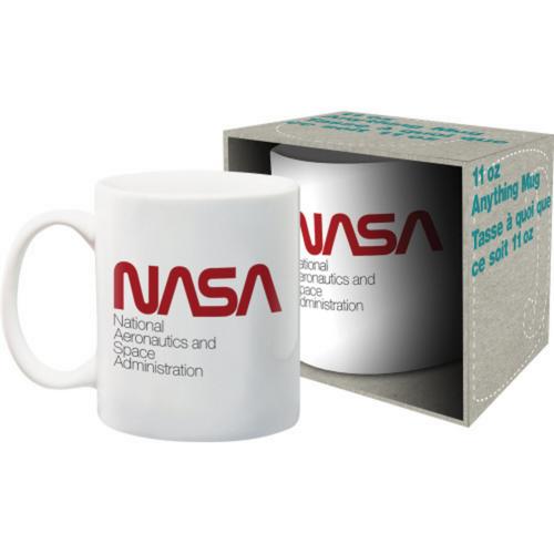 Classic Nasa Logo Boxed Mug