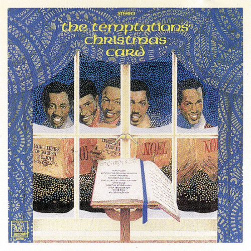 Temptations Vinyl Record Christmas Card