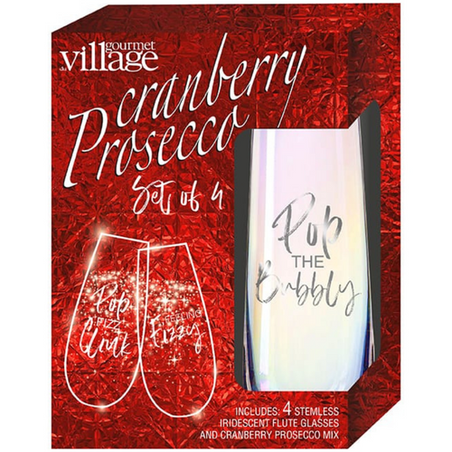 Cranberry Procescco Gift Kit