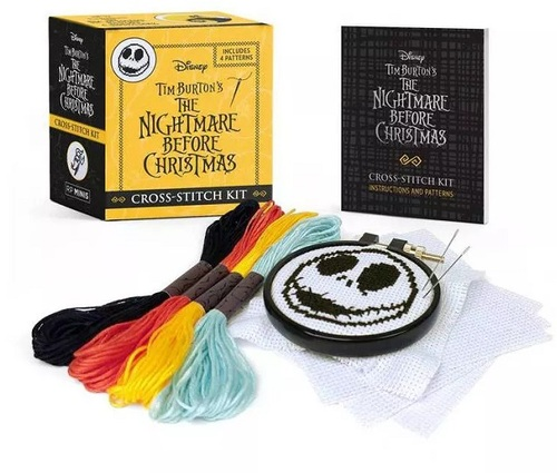 Nightmare Before Christmas Cross-Stitch Mini Kit