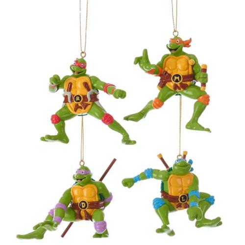 2020 Teenage Mutant Ninja Turtles Ornaments