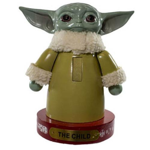 Mandalorian Baby Yoda Nutcracker